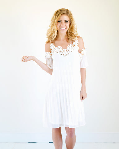 Ariel Ivory Lace Cold Should Dress
