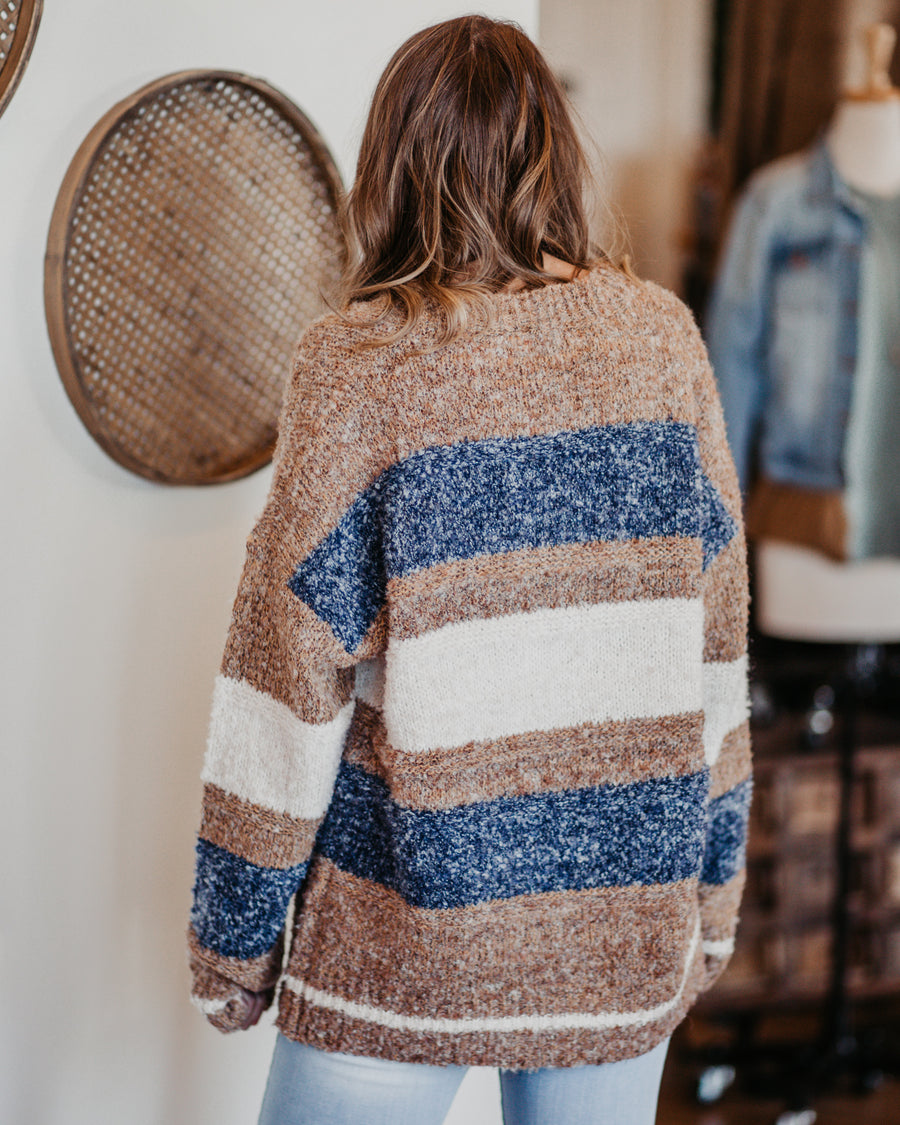 Honey Striped Pullover