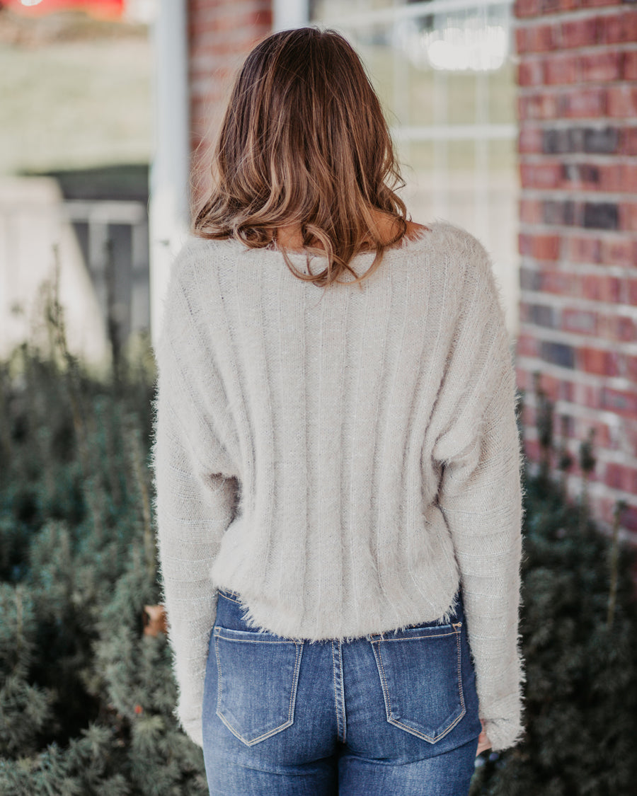 Riley V-Neck Sweater