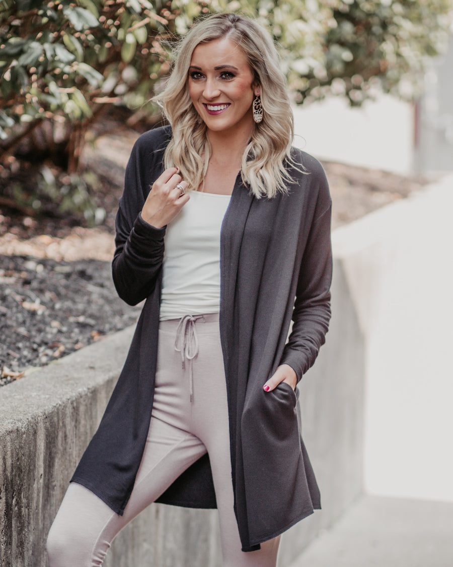 Soft Touch Fleece Cardigan