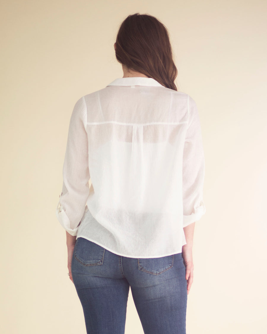 Willow Cuffed Sleeve Top
