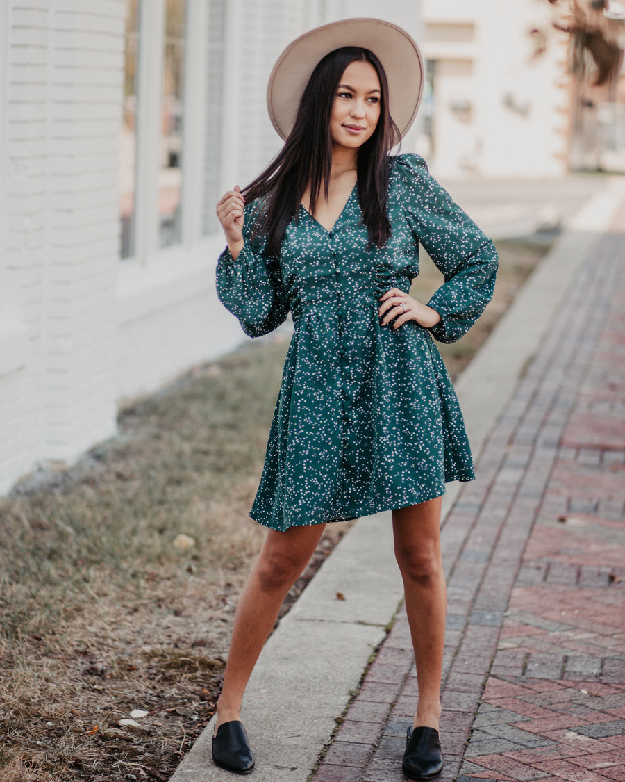 Addy Speckled Dress