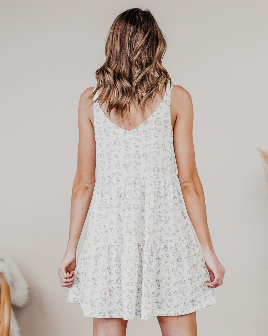 Picnic in the Park Floral Dress