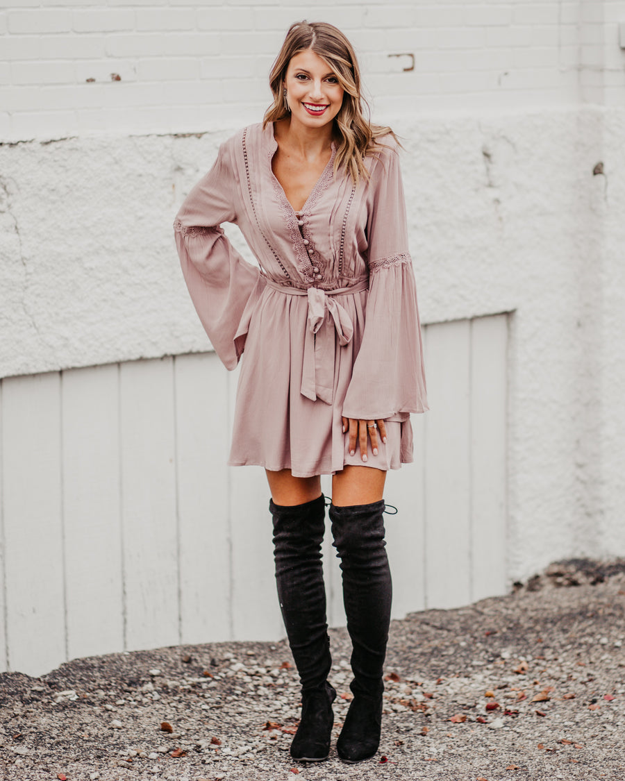 Leah Bell Sleeve Dress