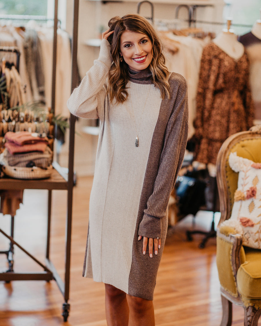 Ella Sweater Dress
