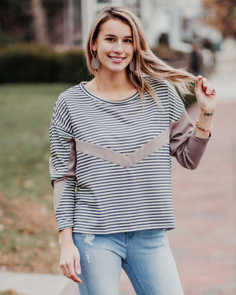 Eden Striped Top