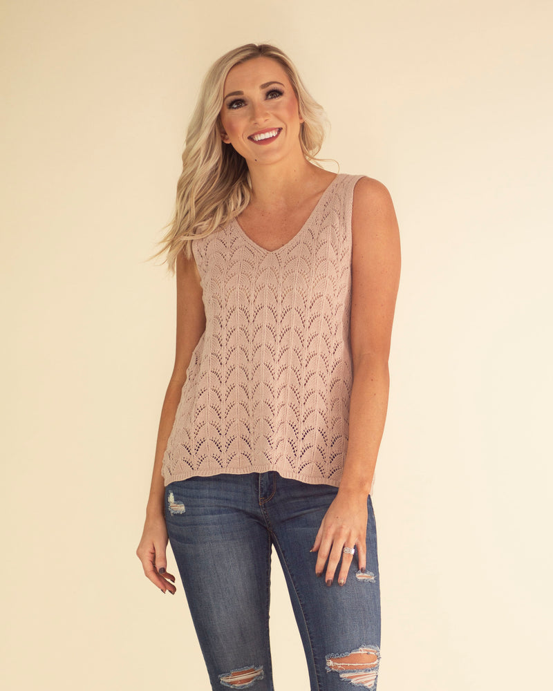 Katie Sleeveless Knit Top