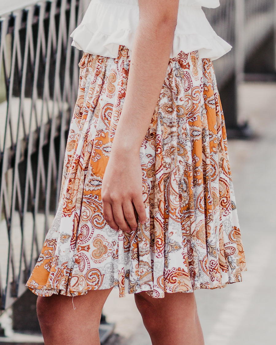 Mary Paisley Skirt