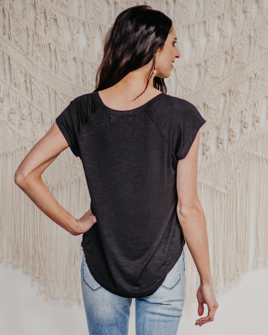 Taylor Basic V-Neck Top