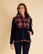 Paige Plaid Fleece Jacket