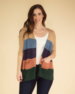 Phoebe Striped Sweater Cardigan