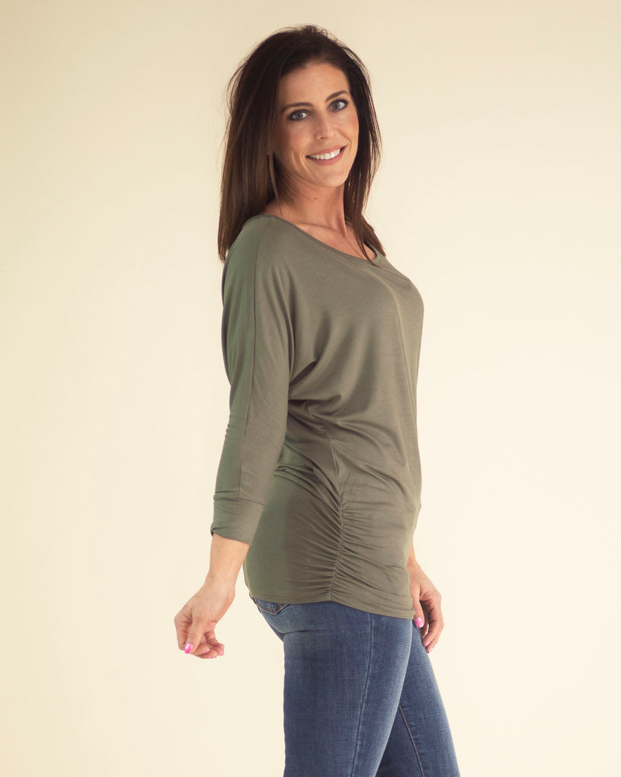 Jasmine Ruched Top