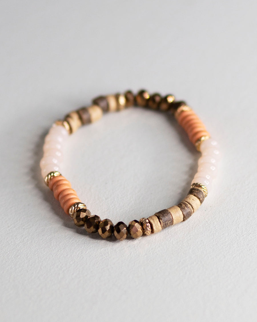 Multi Beaded Giveback Bracelet