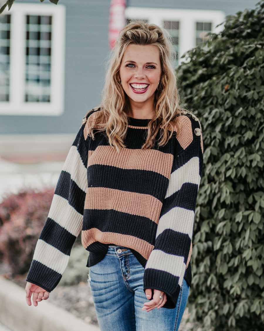Aurora Striped Sweater