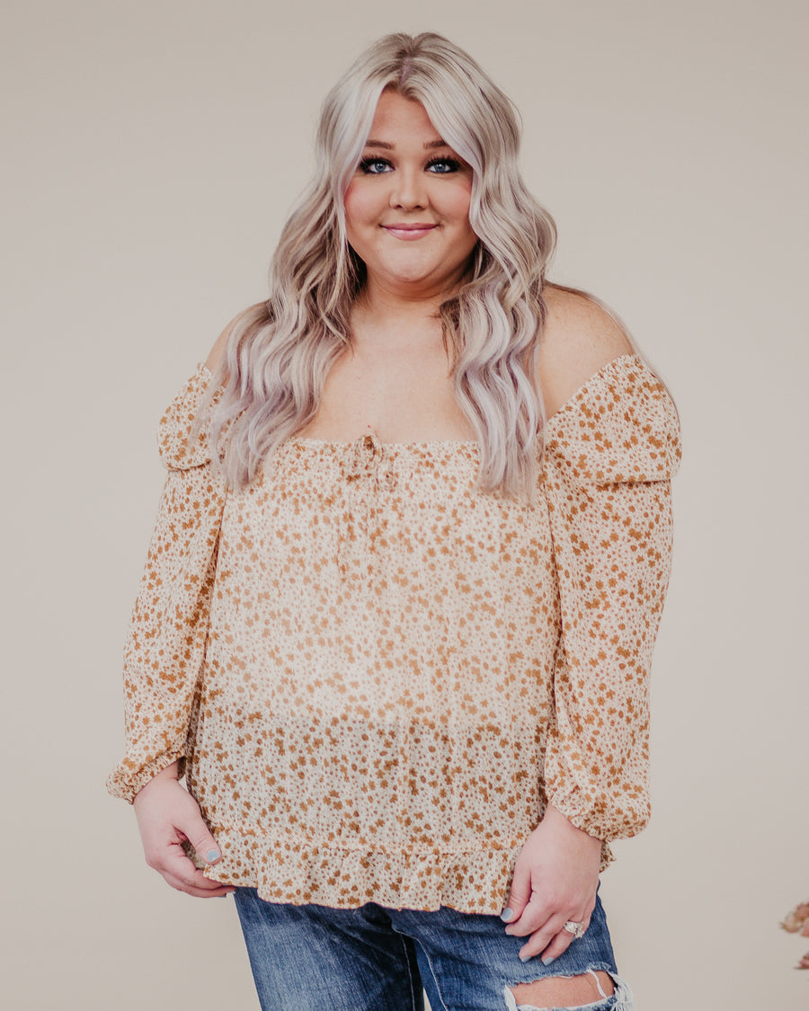 Harmony Floral Puff Sleeve Top
