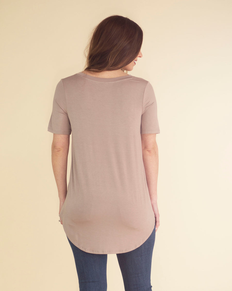 Ultra Soft V-Neck Top