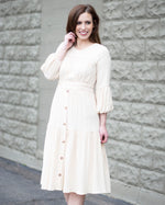 Maddy Puff Sleeve Maxi Dress