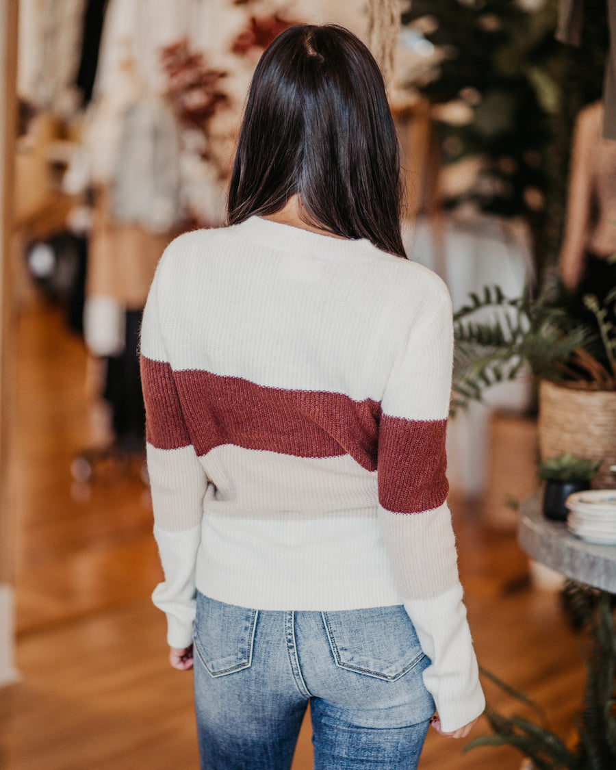 Sally Colorblock Sweater