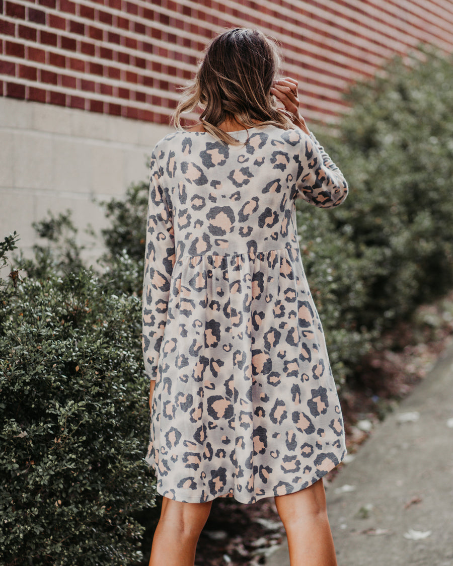 Daisy Leopard Dress