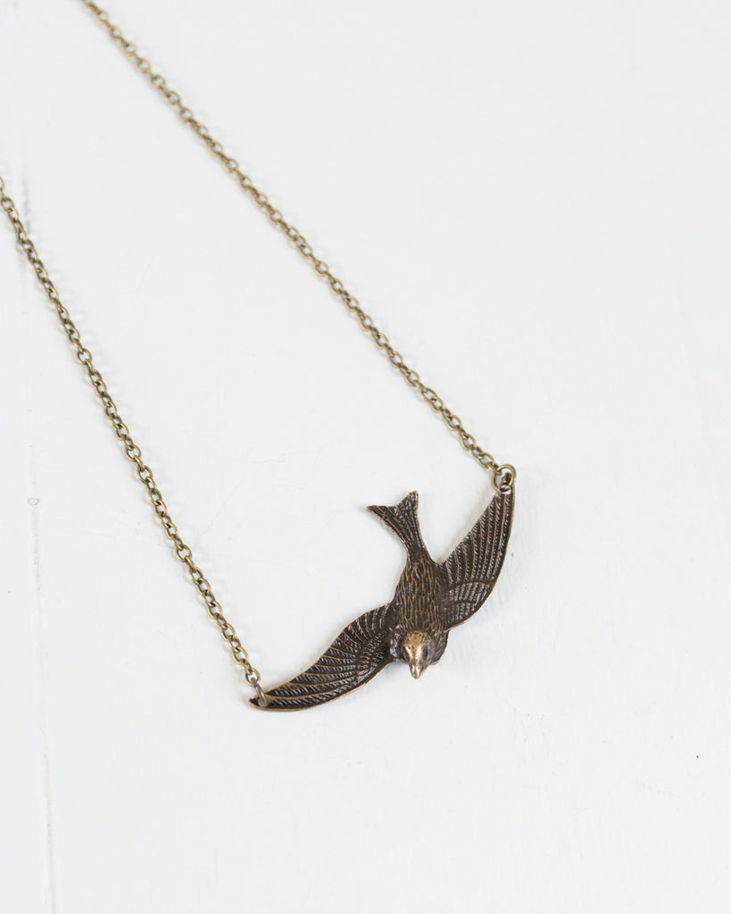 Vintage Sparrow Necklace