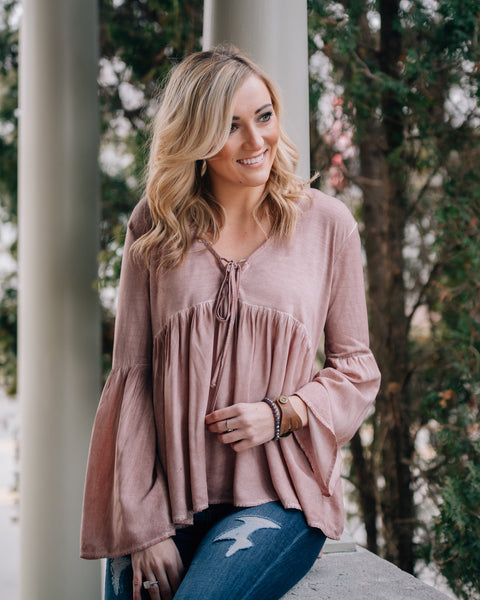 Cali Bell Sleeve Top