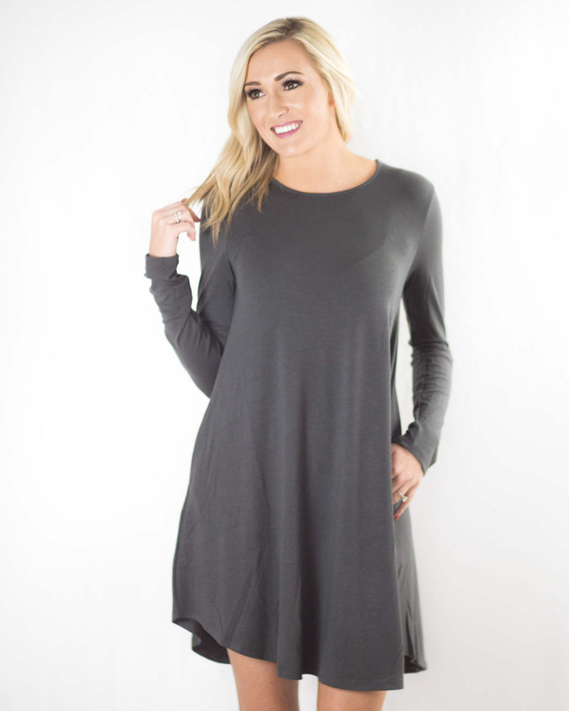 Simply Perfect Long Sleeve Dress