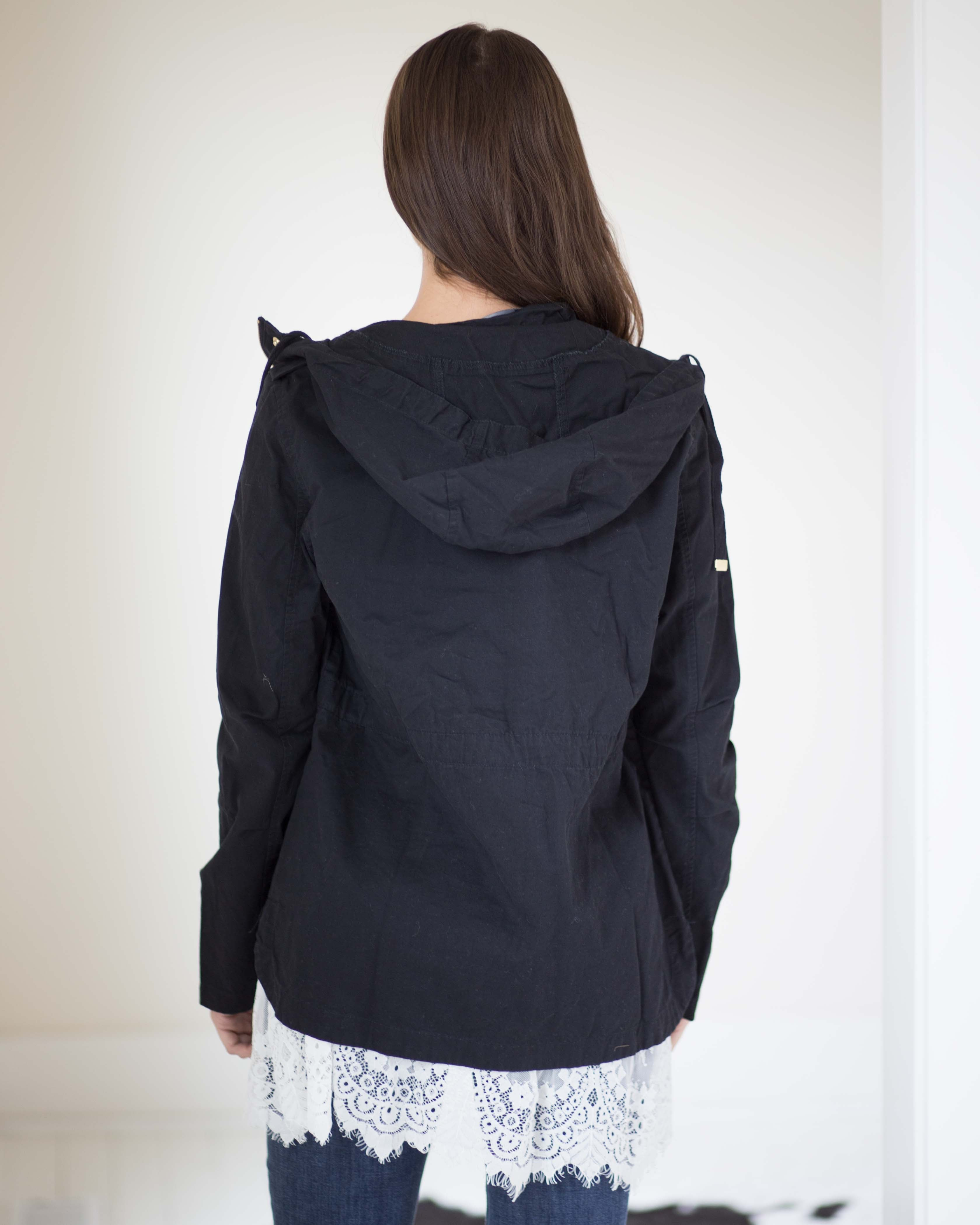 Hannah Hooded Utility Jacket | Rose & Remington