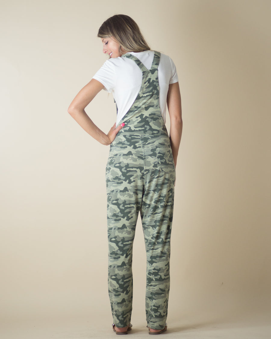 Relax Fit Camo Overalls