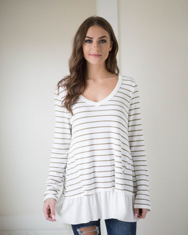 Olivia Striped Long Sleeve