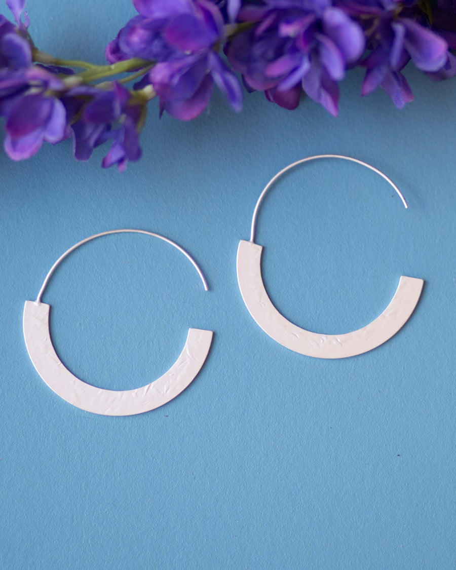 Matte Circular Earrings
