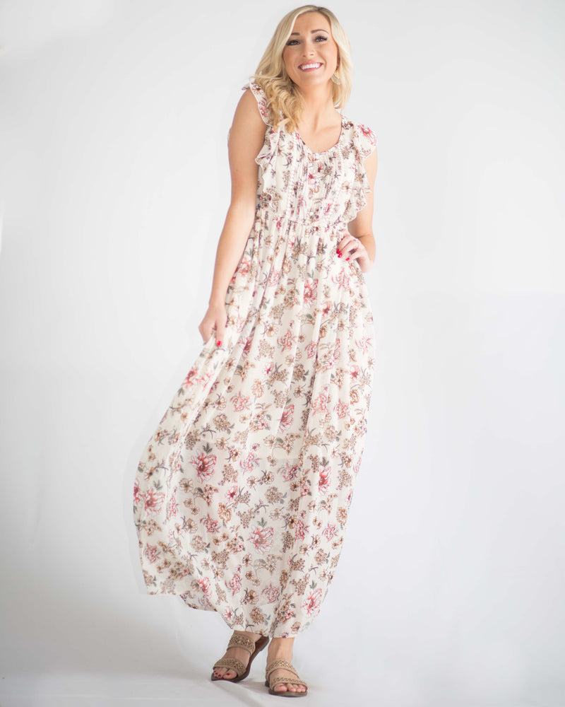 Madilynn Ruffled Maxi Dress