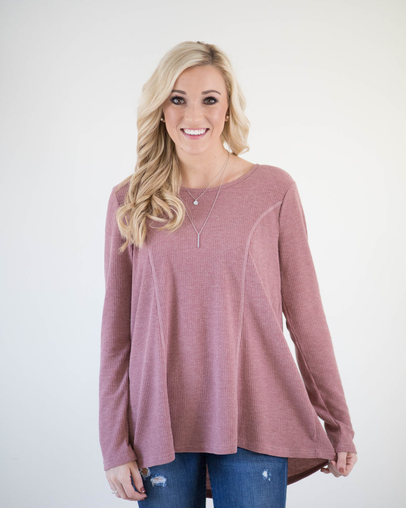 Back Tie Detail Long Sleeve | Rose & Remington