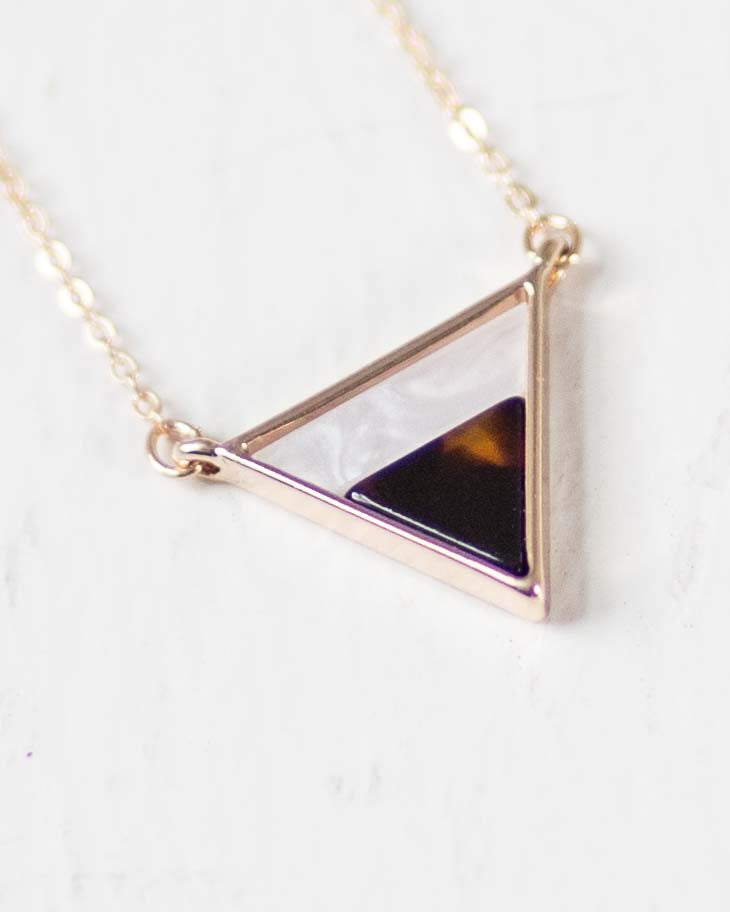 Tiffany Triangle Necklace