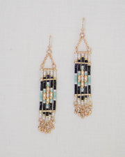 Aztec Beaded Earrings | Rose & Remington