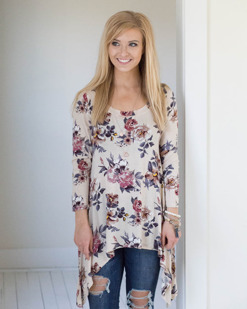 Riley Floral Top | Rose & Remington