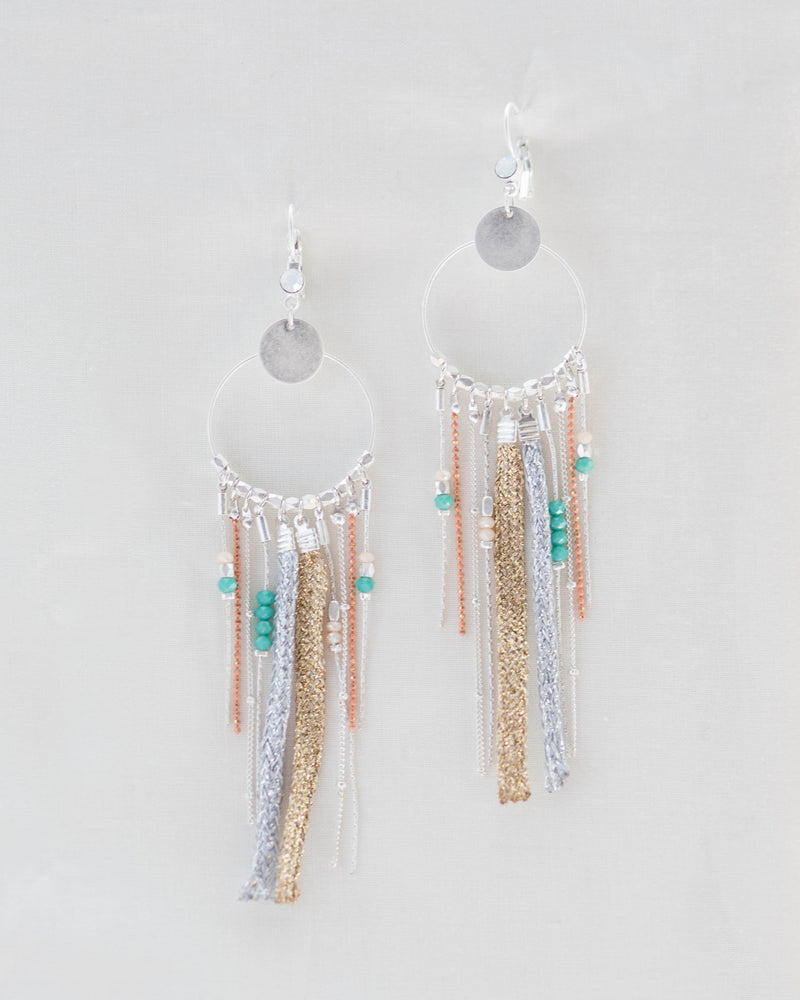 Summer Dreamcatcher Earrings | Rose & Remington