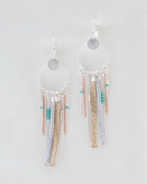 4b697642e Summer Dreamcatcher Earrings | Rose & Remington