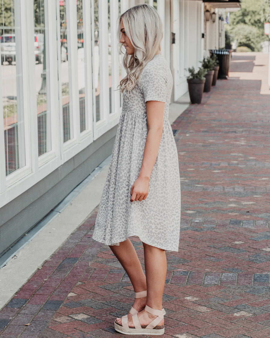 Lexi Animal Print Swing Dress