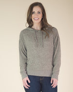 Heather Hooded Top