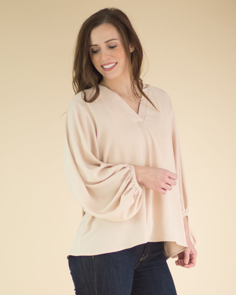 Perfectly Chic Long Sleeve Top