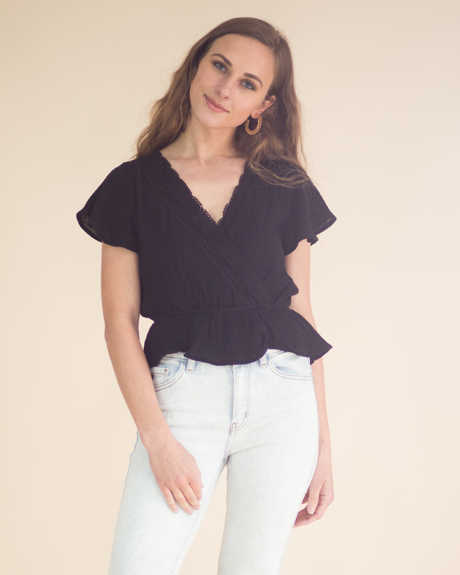 Brooke Lace Top