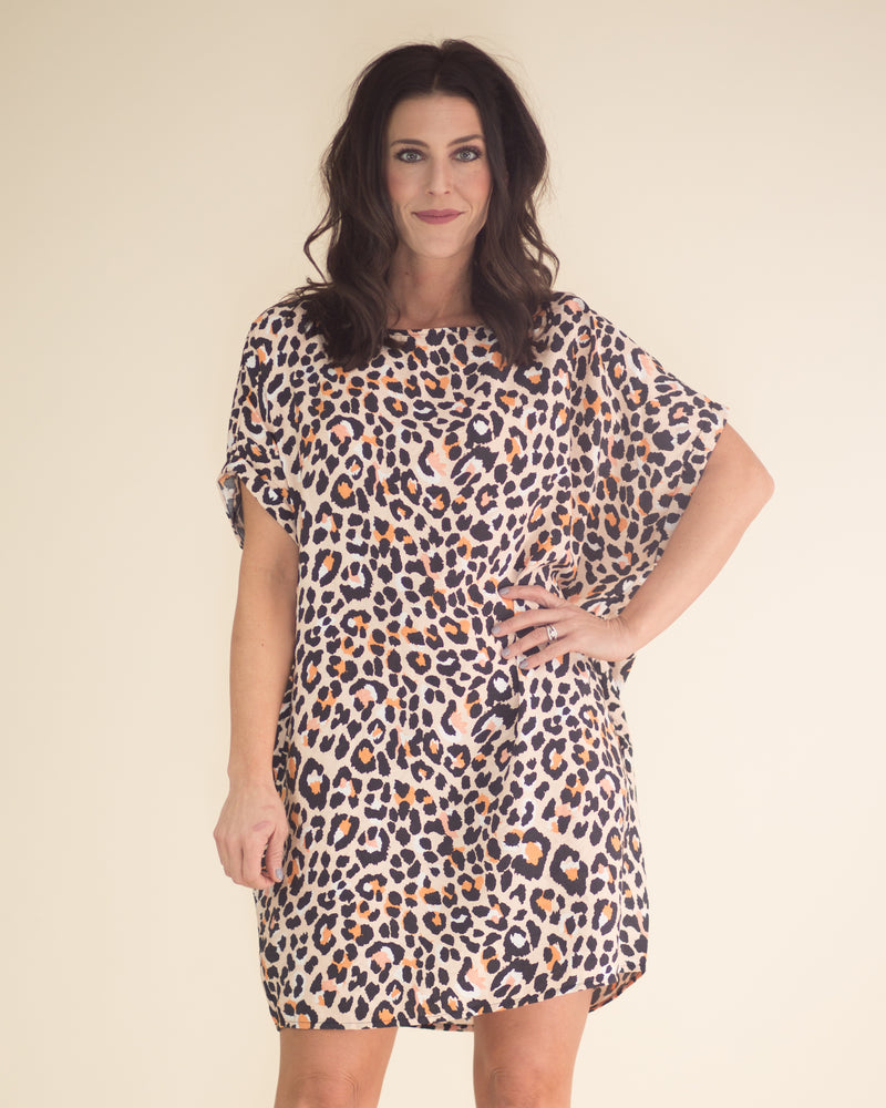 Jungle Pocketed Dress