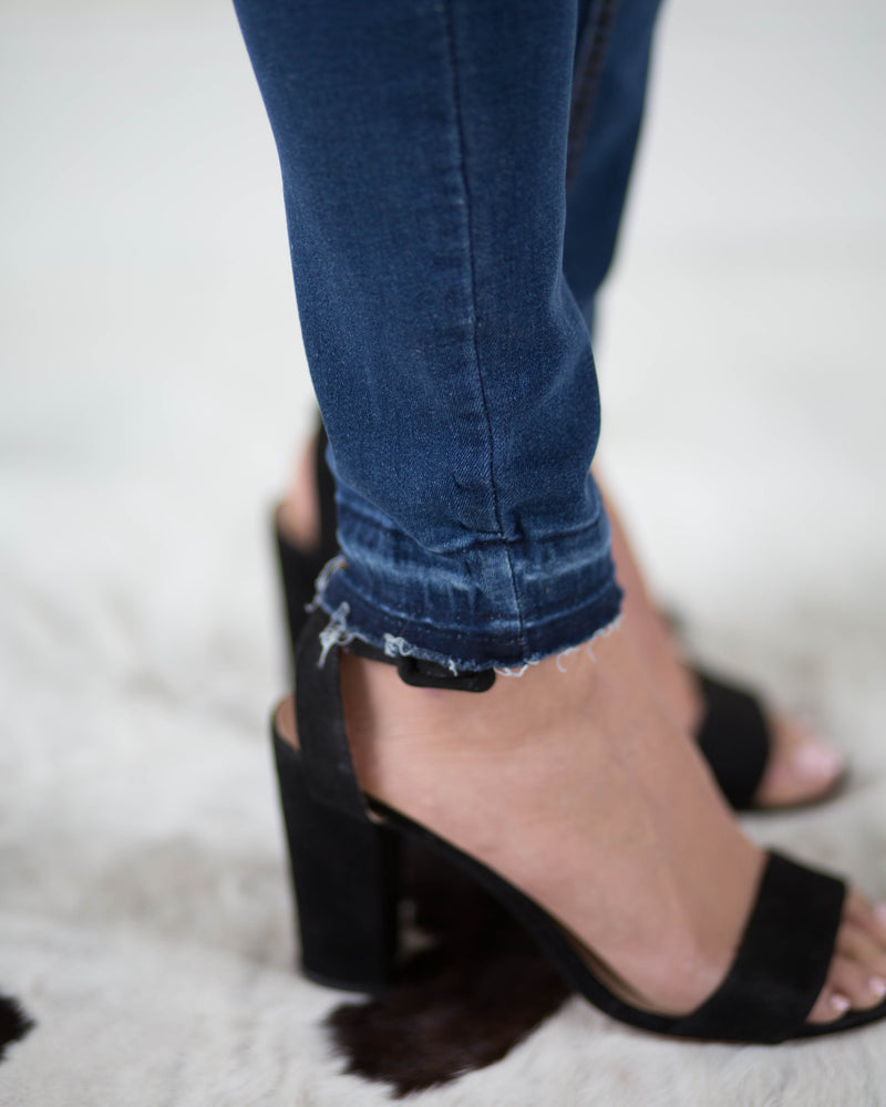 Mid Rise Skinny Ankle Jean | Rose & Remington