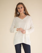 Juliane Cuffed Sleeve Sweater