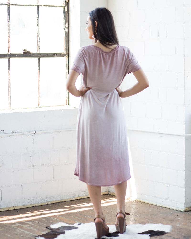 Erica Midi Tee Dress | Rose & Remington