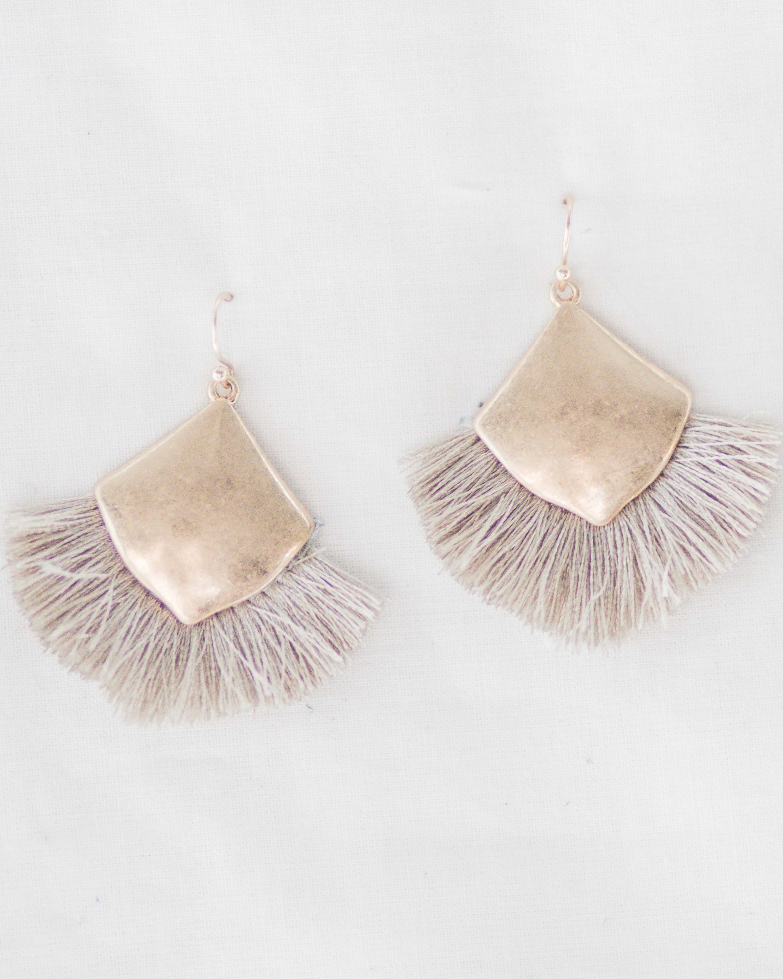 Allie Tassel Earrings