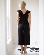 Berkeley Ruffled Jumpsuit | Rose & Remington