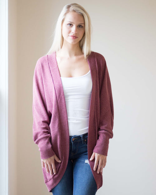 Becca Long Cardigan | Rose & Remington