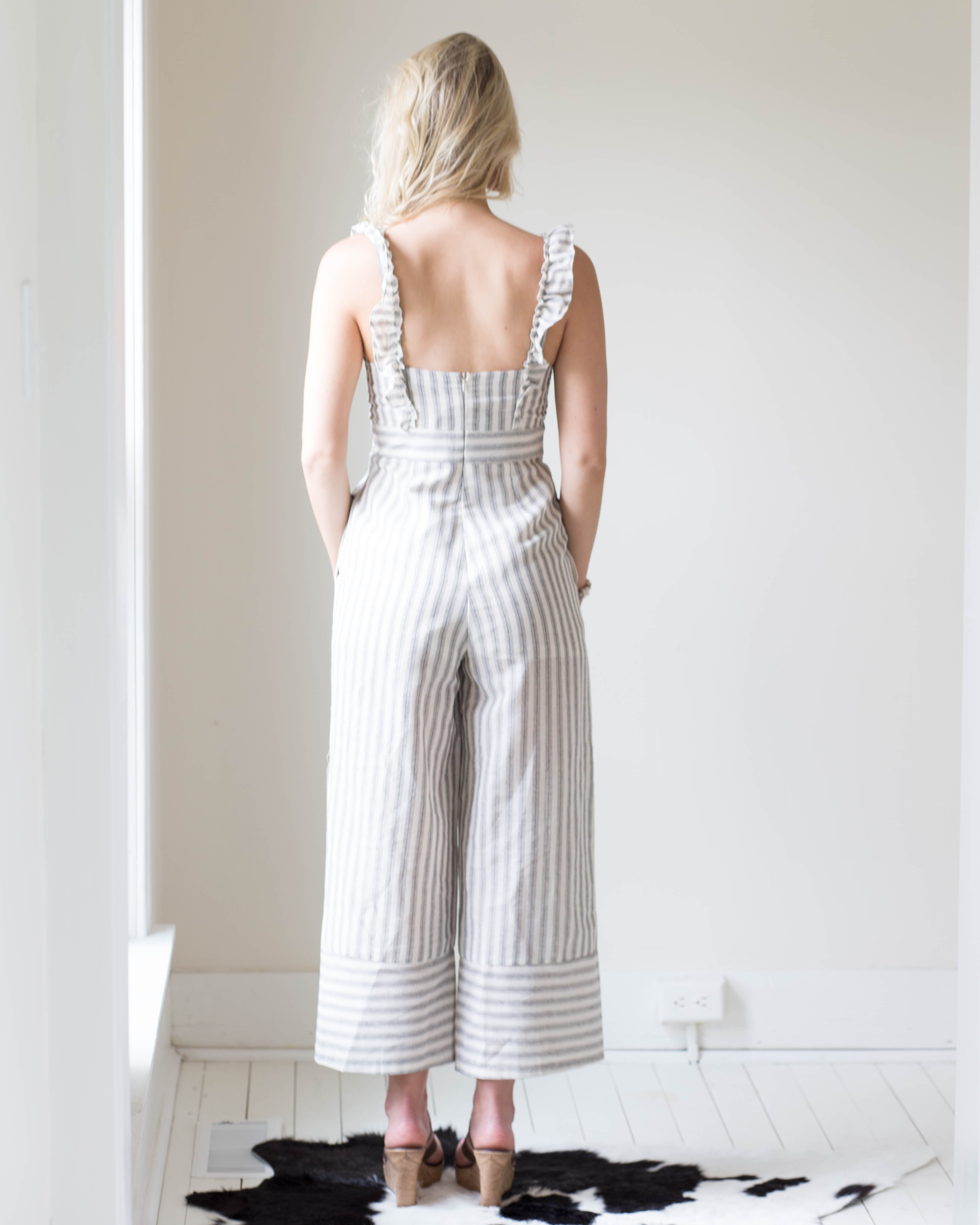 Louise Linen Jumpsuit | Rose & Remington