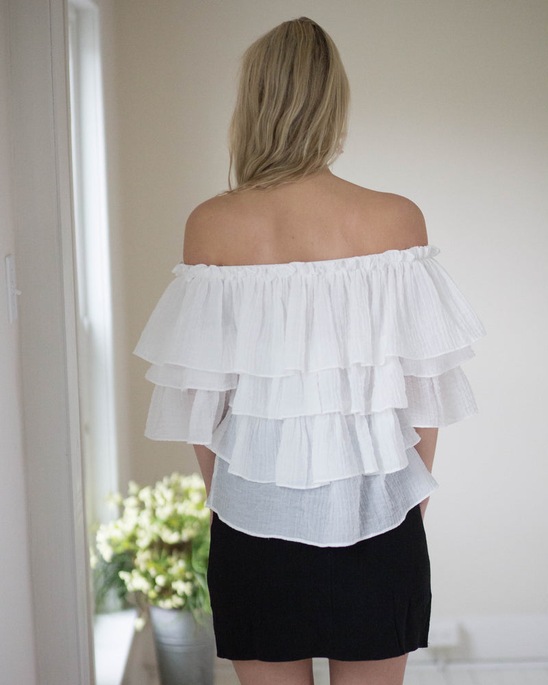 Ruffled Up Top | Rose & Remington